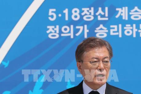 Tổng thống Hàn Quốc cam kết hợp tác với LHQ về vấn đề Triều Tiên
