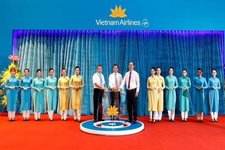 Vietnam Airlines khai trương hệ thống dịch vụ tại Nhà ga quốc tế T2 Đà Nẵng