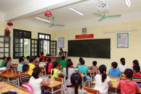 Tỷ lệ trường đạt chuẩn quốc gia có sự chênh lệch lớn ở Hà Nội