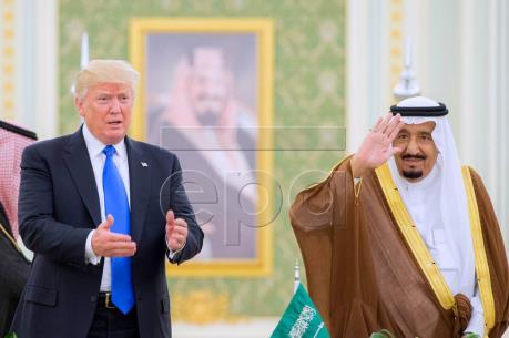 Saudi Arabia và Mỹ ký các thỏa thuận hợp tác trị giá hơn 380 tỷ USD