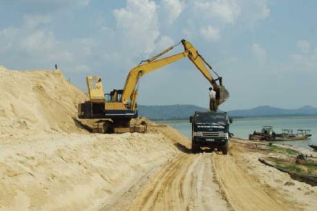 Giá cát xây dựng tại Tp. Hồ Chí Minh tăng đột biến
