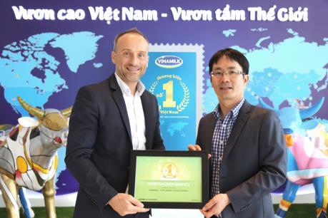 Vinamilk được bình chọn là nhãn hiệu số 1 Việt Nam trong ba năm liên tiếp