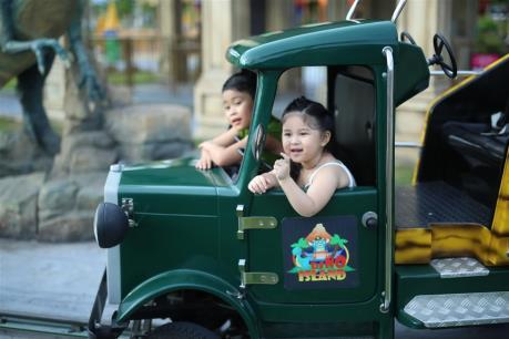 Ngày Quốc tế thiếu nhi 1/6 sôi động tại Sun World Danang Wonders