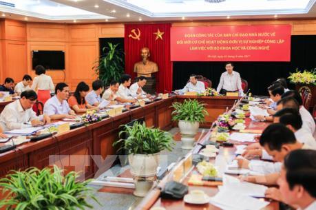 Phó Thủ tướng Vương Đình Huệ: Thừa cán bộ quản lý, thiếu cán bộ khoa học có năng lực