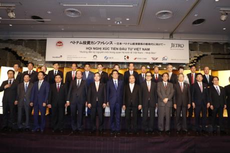 Thủ tướng tham dự Hội nghị xúc tiến đầu tư Việt Nam lớn nhất tại Nhật Bản