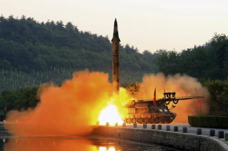 """Mỹ """"quan ngại nghiêm trọng"""" về tiến bộ tên lửa của Triều Tiên"""
