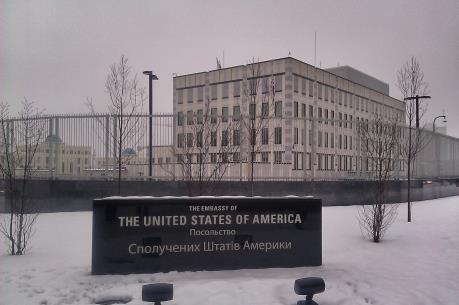 Nổ tại Đại sứ quán Mỹ ở Ukraine