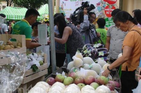 Rau quả vừa được giá xuất khẩu, vừa được giá trong nước
