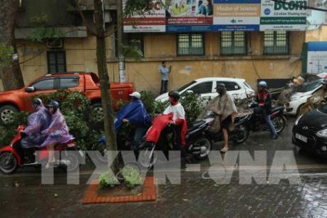 Hà Nội: Khuyến cáo người dân hạn chế ra đường khi có hiện tượng dông lốc cục bộ