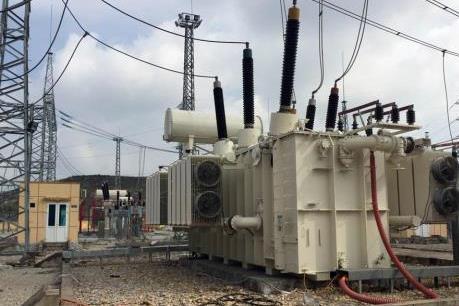Hoàn thành thay máy biến áp 220 kV Bỉm Sơn