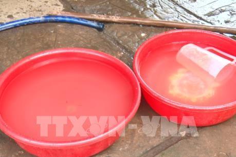 Ô nhiễm nước khu vực nhà máy sản xuất tinh bột sắn