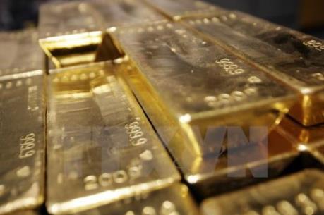 Giá vàng thế giới giảm xuống gần mức thấp nhất trong 5 tuần