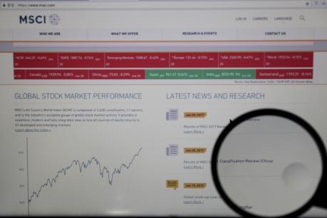 MSCI quyết định đưa chứng khoán Trung Quốc vào chỉ số chứng khoán toàn cầu