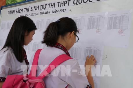 Đã có 40 địa phương công bố điểm thi THPT quốc gia năm 2017