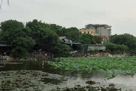 Làm rõ sai phạm về sử dụng đất, trật tự xây dựng tại hồ Đầm Trị