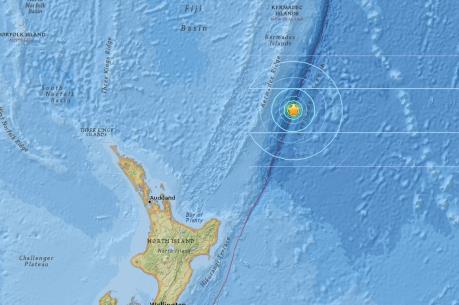 Liên tiếp xảy ra động đất mạnh ngoài khơi New Zealand