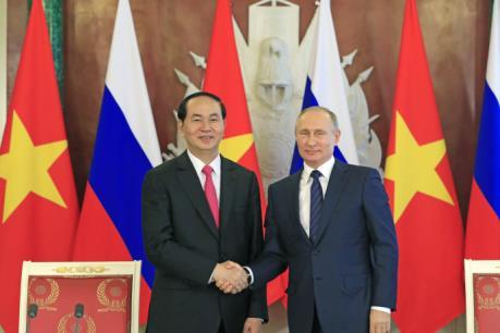 Dư luận Nga đánh giá tích cực chuyến thăm của Chủ tịch nước Trần Đại Quang
