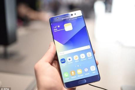 Tuần tới Samsung ra mắt điện thoại Galaxy Note 7s tân trang mang tên Note Fan Edition