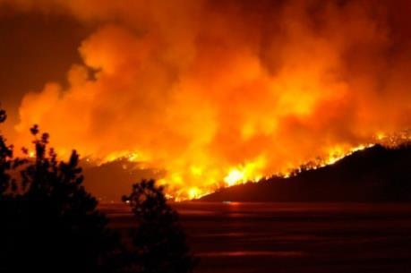 Cháy rừng nghiêm trọng tại Mỹ và Canada khiến hàng nghìn người phải sơ tán