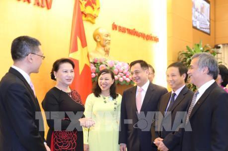 Gặp mặt Trưởng các cơ quan đại diện ngoại giao của Việt Nam ở nước ngoài