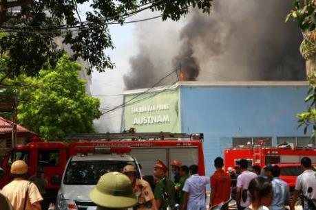 Rà soát công tác phòng chống cháy nổ của các hộ kinh doanh, sản xuất nhỏ lẻ