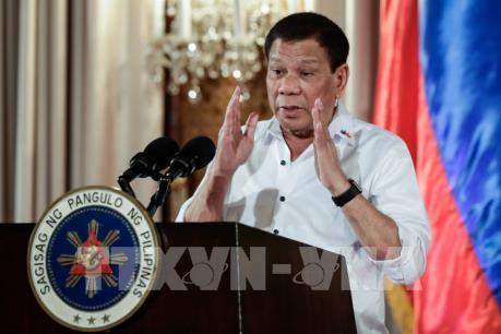 Tổng thống Philippines Rodrigo Duterte được tín nhiệm cao
