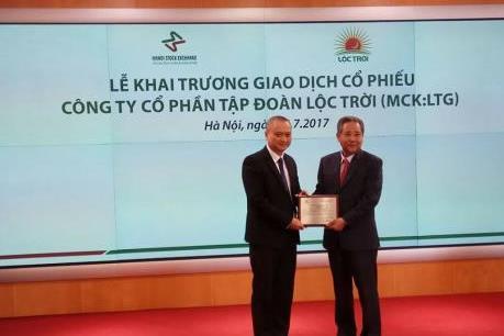 Tập đoàn Lộc Trời chính thức giao dịch trên UPCoM