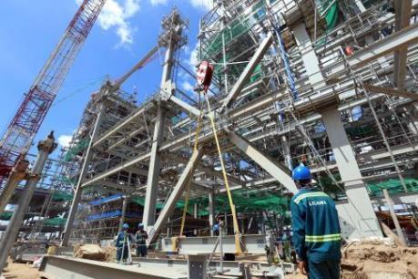 Lilama thử thách tiến độ tại dự án xi măng Tân Thắng