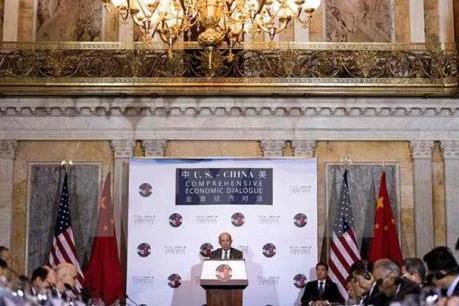 Điểm nhấn trong Đối thoại Kinh tế Mỹ-Trung