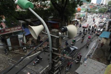 Hà Nội hạn chế loa phường tại các quận nội thành