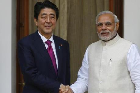 Nhật Bản với Ấn Độ trong nỗ lực kiềm chế Trung Quốc