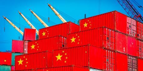 Thâm hụt thương mại của Trung Quốc tăng mạnh