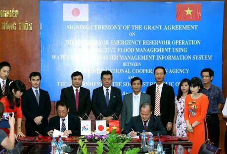 Nhật Bản hỗ trợ Việt Nam vận hành hồ chứa trong tình huống khẩn cấp