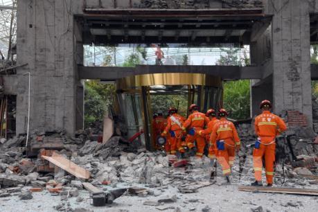 Thương vong trong trận động đất tại Tứ Xuyên, Trung Quốc tiếp tục tăng
