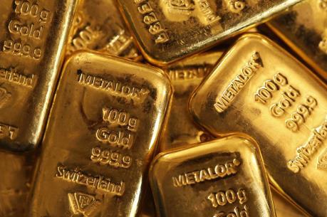 Giá vàng châu Á ít biến động trong phiên cuối tuần