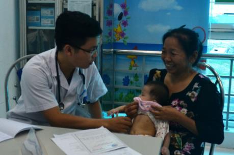 Lần đầu tiên tổ chức khám sàng lọc bệnh tim miễn phí cho trẻ em tại Thái Bình