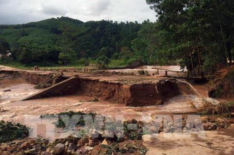 Cảnh báo nguy cơ sạt lở đất, lũ quét tại Hà Giang, Cao Bằng, Lạng Sơn