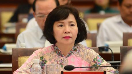 Chính thức miễn nhiệm chức vụ Thứ trưởng đối với bà Hồ Thị Kim Thoa 