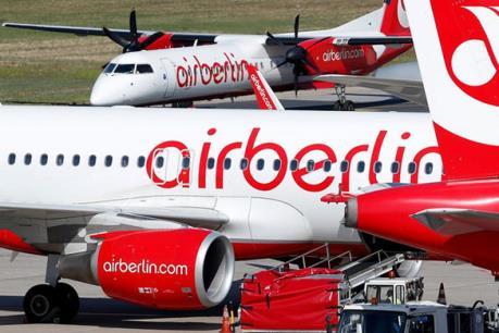 Chính phủ Đức hỗ trợ Air Berlin duy trì hoạt động