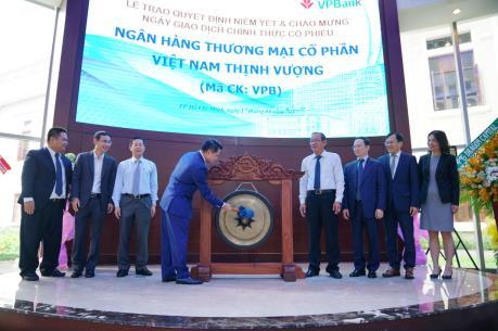 VPBank chính thức lên sàn HOSE