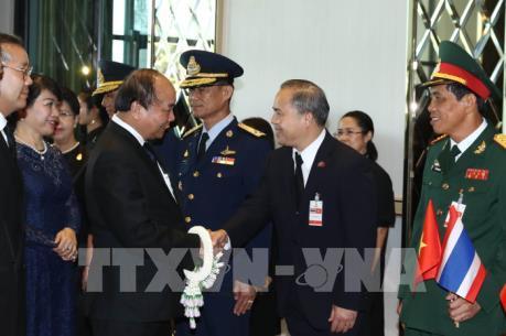 Thủ tướng Nguyễn Xuân Phúc bắt đầu thăm chính thức Vương quốc Thái Lan