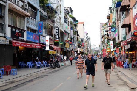 Tp Hồ Chí Minh: Chính thức khai trương phố đi bộ Bùi Viện
