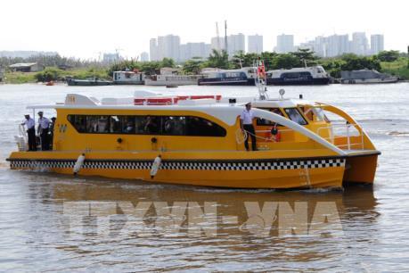 Tuyến buýt đường sông đầu tiên tại Tp. Hồ Chí Minh sắp đưa vào khai thác