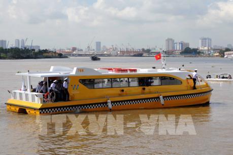 Vận hành thử nghiệm tuyến buýt sông số 1 của TP. Hồ Chí Minh