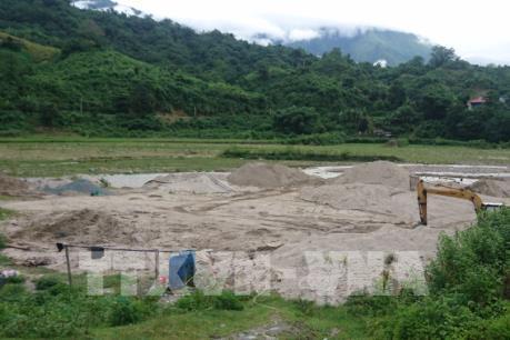 Quảng Ninh thiếu cát cho các công trình xây dựng