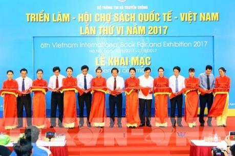 Triển lãm - Hội chợ sách Quốc tế - Việt Nam lần thứ VI năm 2017