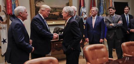 Mỹ: Bất đồng giữa Tổng thống và các nghị sĩ Cộng hòa ngày càng gia tăng