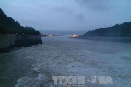Mực nước trên sông Thao tại Lào Cai đã đạt đỉnh