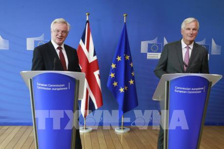 Nhiều thách thức trong vòng đàm phán thứ ba về Brexit giữa Anh và EU
