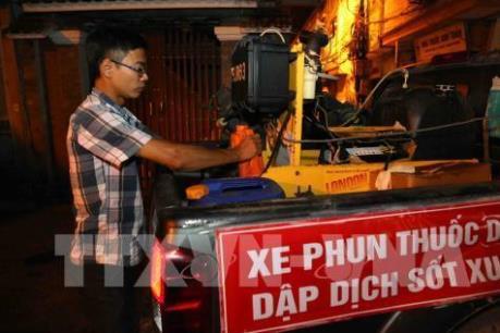 Hà Nội đã khống chế được trên 1.460 ổ bệnh sốt xuất huyết